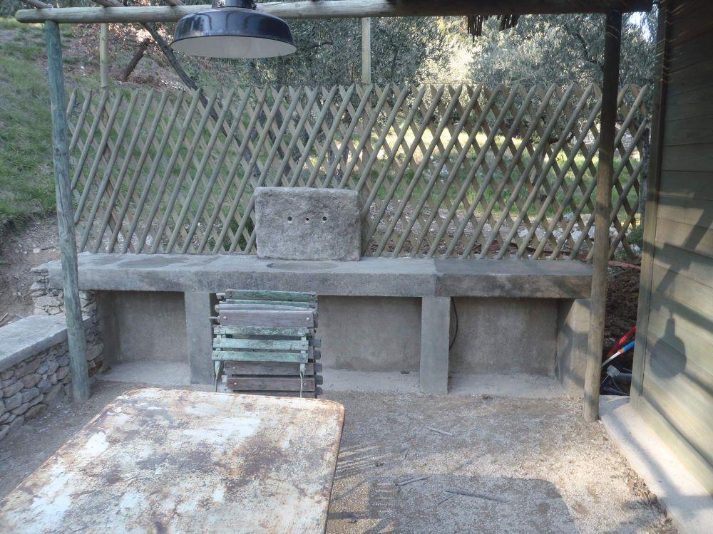 Clôture en croisillon, bois arboricole, fabrication sur mesure à