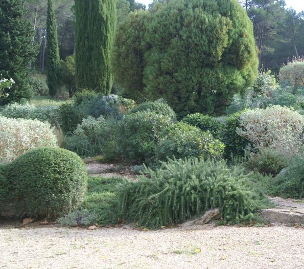 jardin de rocaille saint remy de provence dans les alpilles m randal. Black Bedroom Furniture Sets. Home Design Ideas